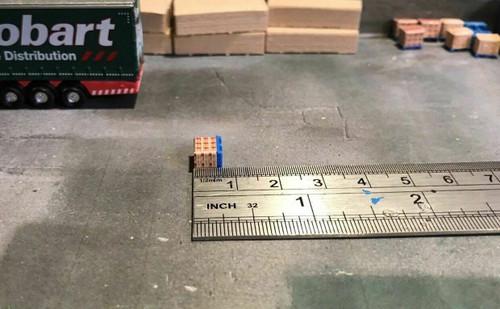 1.148 3D Printed Red Cement Bag Load - 20pk