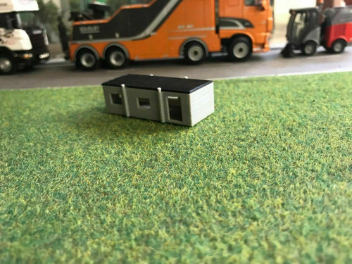 1.148, N Scale Portable Site Office - 2pk