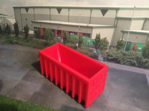1:50 3D Printed Red Skip