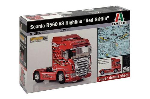 Italeri Scania R560 V8 Highline''Red Griffin''