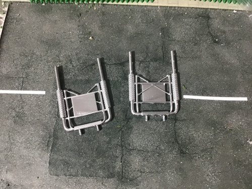 1:76 scale detailed straight tip exhaust stack 2 pack