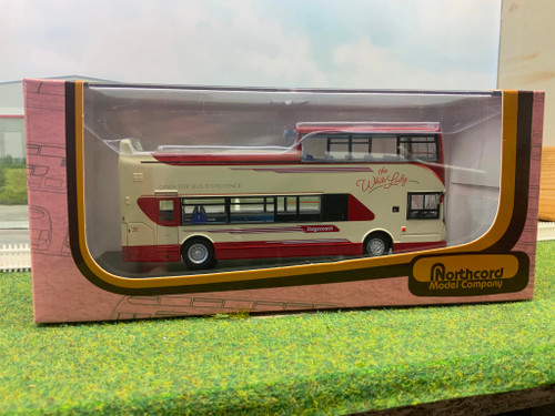 1:76 CMNL Northcord ukbus1502 The white lady Stagecoach Bus