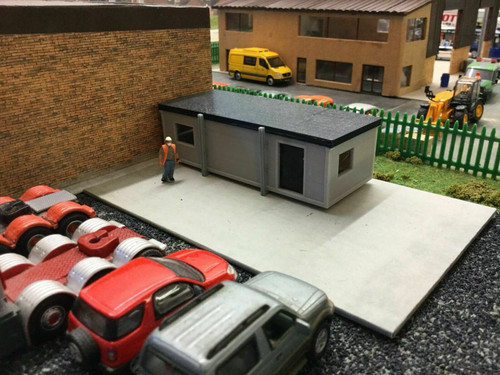 1:76 3D Printed Portable Site Office