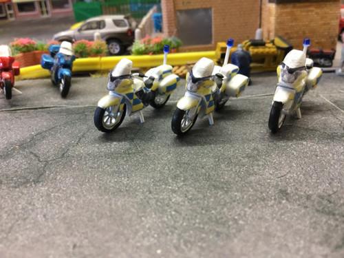 1.76 3D printed police motorbike