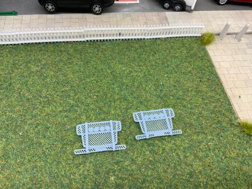 1.76 Code 3 Bull Bars 2pk (mesh with lights)