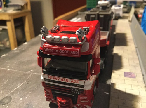 1:76 3D resin printed Michelin men (lorry upgrade 5sets)