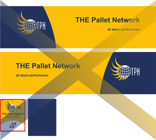 1:76 The Pallet Network Cab and trailer decals