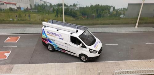 1/43 Code3 BT superfast Fibre Greenlight diecast transit custom