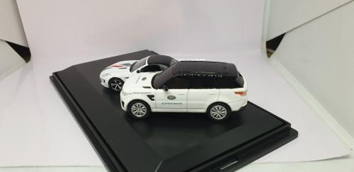 1:76 Oxford Diecast Jaguar & Land rover experience set