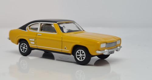 Ford Capri MK1 Maize Yellow 76CP001