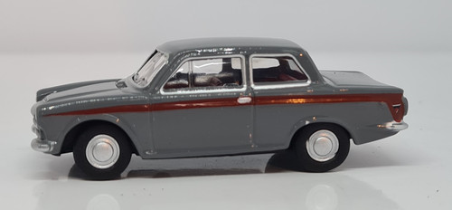 Ford Cortina Lombard Grey/Red 76COR1008