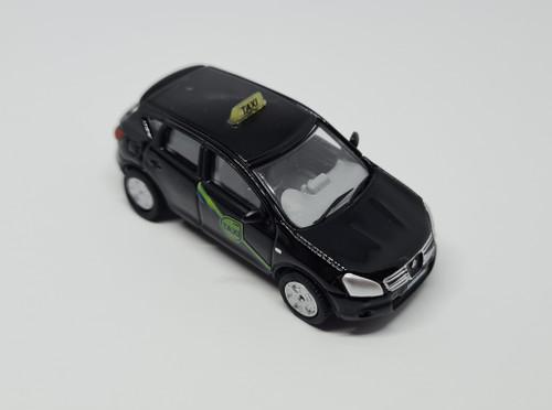 1:76 Code 3 Nissan Quashqai private hire taxi (Black)