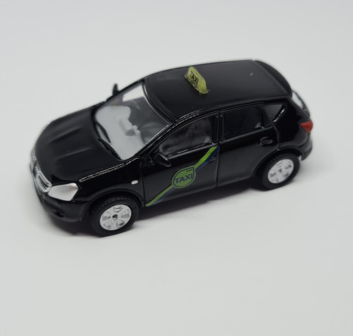 1:76 Code 3 Nissan Quashqai private hire taxi (Black) model vehicle