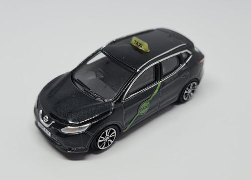 1:76 Code 3 Nissan Quashqai J11 private hire taxi (metallic Black) Model Car