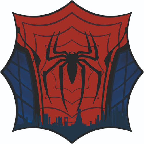 Spiderman bumper sticker