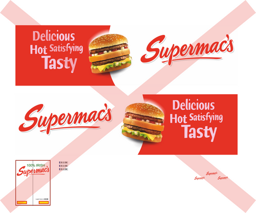 1.76 Supermacs decals for Scania cab and trailer (vinyl)