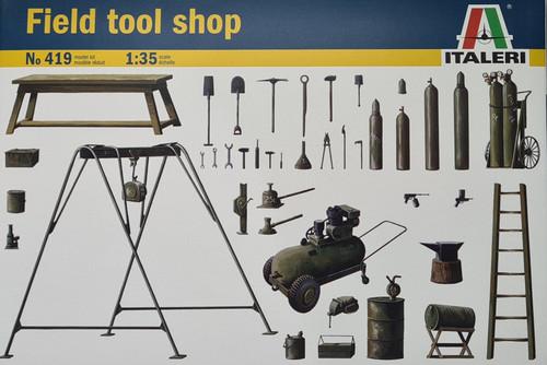 Italeri 1:35 scale Field Tool Shop (419)