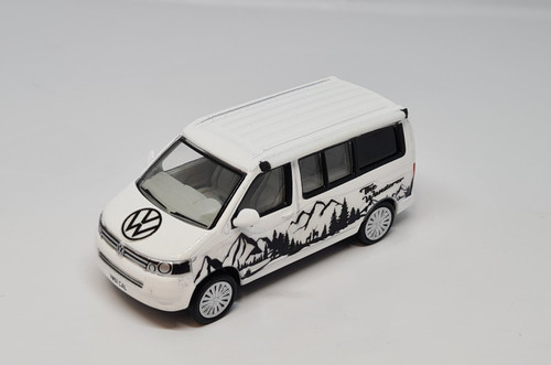"1/76 Code 3 Oxford diecast  Volkswagen T5 California camper ""The Wanderer"""