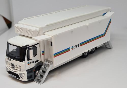 1:76 Mercedes-Benz Antos TVB Broadcast truck