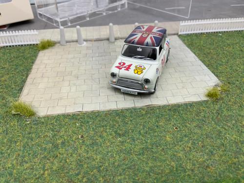 1:50 Scale Mini Cooper Racing #24 (RHD)