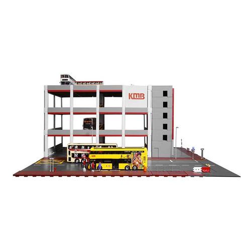 1:64 Hong Kong KMB Bus Depot Street Diorama (Pre Order)