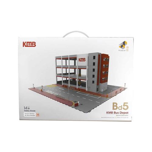 1:76 Hong Kong KMB Bus Depot Street Diorama