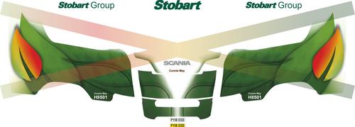 1:50 scale Stobart Biomass Decals for Next Gen Scania R series