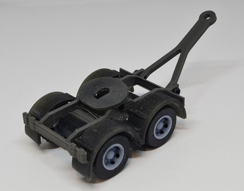 1.76 3D printed Trailer Dolly (Grey)