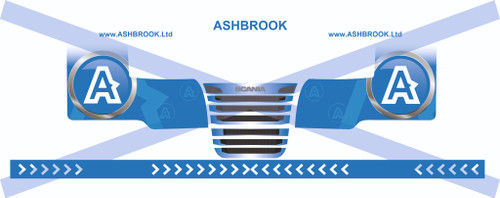 1:76 Ashbrook decals for Scania