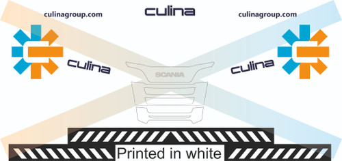 1:50 Culina Stobart Decals for WSI/ Tekno Cab and Trailer