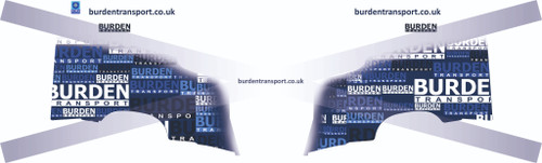 1:50 scale Burden Transport Decals for Volvo FH4