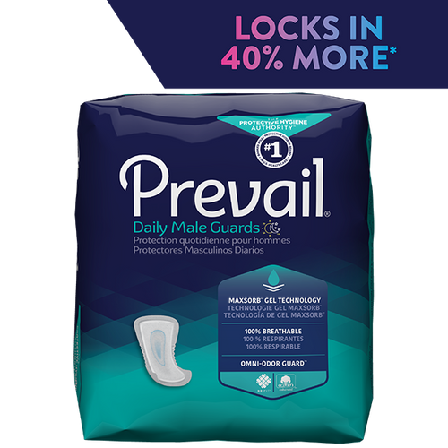 PREVAIL DAILY MALE GUARDS, 12.4""