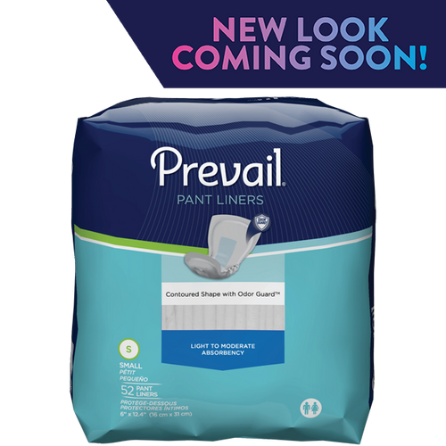 PREVAIL PANT LINER, UNISEX LIGHT ABSORBENCY