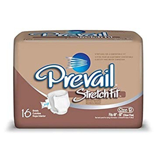 Prevail Stretch Fit, Maximum Absorbency (96 Case)