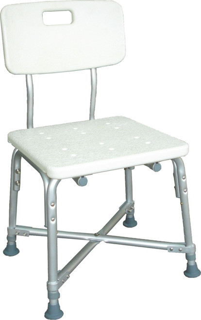 DELUXE BARIATRIC SHOWER CHAIR WITH CROSS-FRAME BRACE 500 LBS CAPACITY