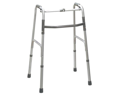DELUXE ONE BUTTON FOLDING WALKER