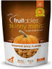 A photo of the front of the Fruitables Skinny Minis Pumpkin Spice  5-oz bag.