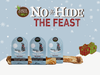 """An image with the No-Hide The Feast 4"""", 7"""", and 11"""" chews lined up next to each other."""