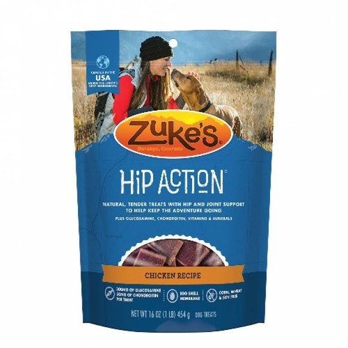 16-oz bag of Zuke's Hip Action Chicken Treats