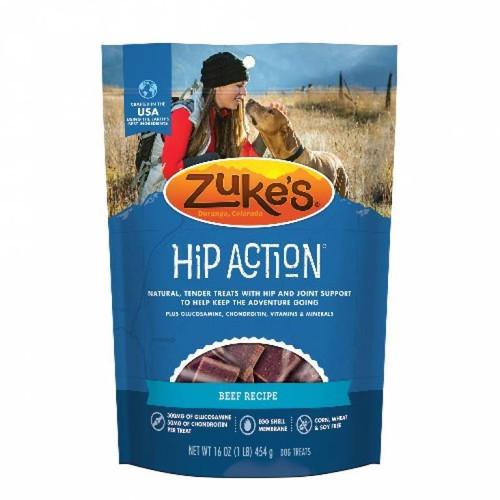 16-oz bag of Zuke's Hip Action Beef Treats
