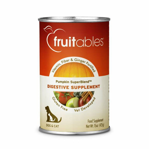 15-oz can of Fruitables Digestive Support Supplement.