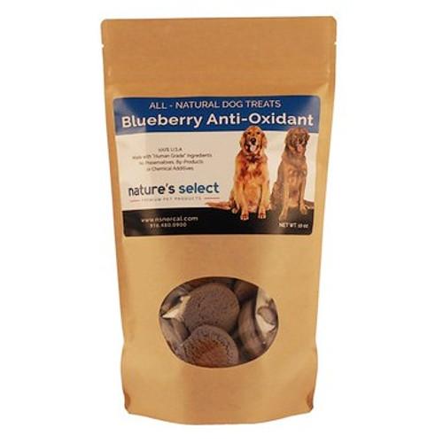 10-oz bag of Blueberry Anti-Oxidant dog  cookies.