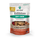 Photo of the front side of the 7.5-oz bag of Pet Releaf Small & Medium Breed Soft Chew Edibites - Sweet Potato Pie.