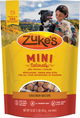 Photo of the front side of a 16-oz bag of Zuke's Mini Naturals Chicken.