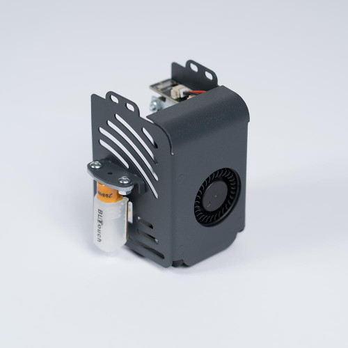 Craftbot Flow Generation Extruder fan with BL Touch - Grey