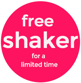 Free Shaker for a Limited Time