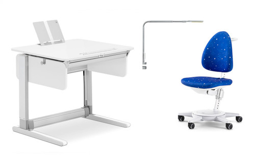 MOLL CHAMPION COMPACT EXPRESS WHITE DESK ONLY (COMBO BUNDLE)