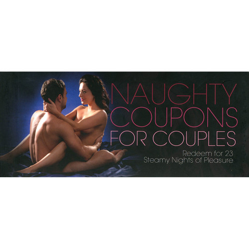 Naughty Coupons for Couples