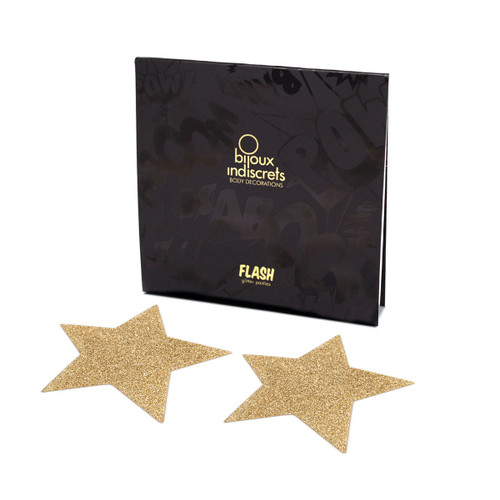 Flash Pastie - Star Gold