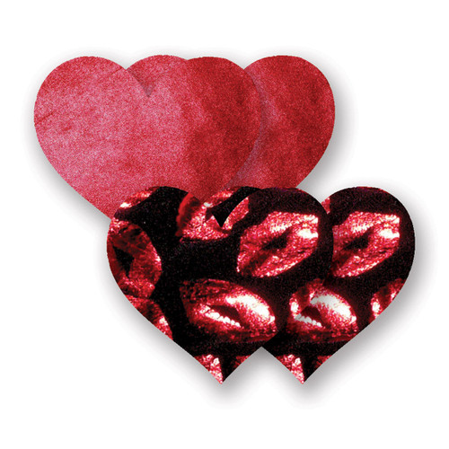 Bristols 6 - Heart Hot Lips A/B Red